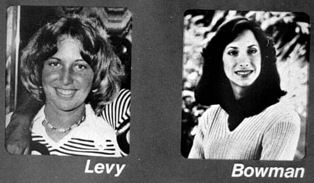 Lisa Levy and Margaret Bowman victims of Ted Bundy